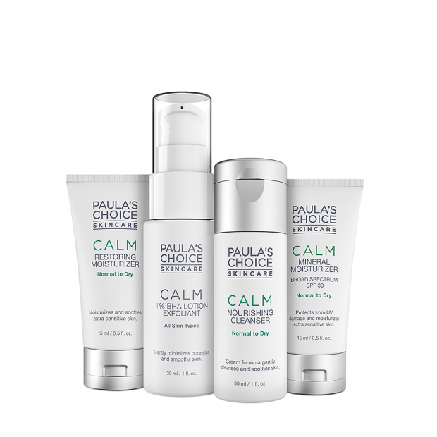 Calm Trial Kit Normal to Dry Skin
